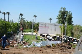 محافظ القليوبية يوجه بإزالة قاعة تصوير مخالفة علي أرض زراعية
