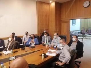 رئيس مستثمري بدر يجتمع مع أعضاء شعبة الادوات الكهربائية لبحث استفادة المصانع من مبادرة حياة كريمة