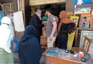 وكيل وزارة التموين بالإسكندرية يقود حملة مكبرة على المخابز و الأسواق