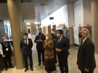 وزير التعليم العالي يزور جامعة كاتوليكا البرتغالية