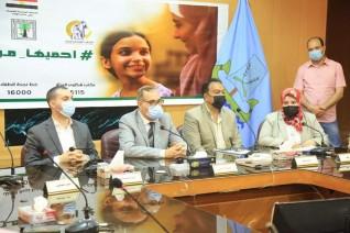 محافظ كفر الشيخ : دعم وتمكين المرأة محورا أساسيا في خطة الدولة الشاملة للتنمية بتوجيهات الرئيس