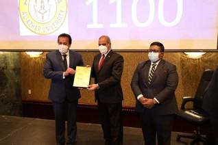 وزير التعليم العالي يشهد احتفالية تكريم الجامعات المدرجة بتصنيف QS لعام 2022