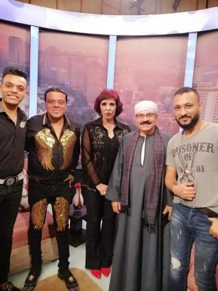 نجوم الفن الشعبي في أولي حلقات برنامج أسرار والنجوم علي قناة النجوم