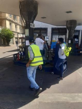 وكيل تموين الإسكندرية يكلف مديري الإدارات بالتفتيش علي محطات الوقود لمتابعة تطبيق  الأسعار الجديدة