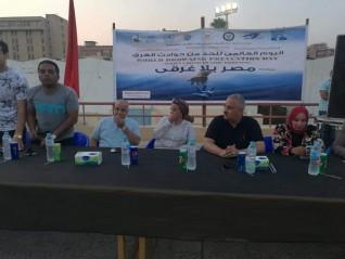 """وكيل وزارة الشباب والرياضة بالقليوبية يشهد فاعليات مبادرة"""" مصر بلا غرق"""