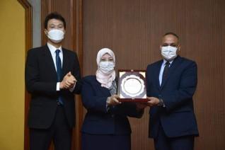 إفتتاح المشروع المصرى الكورى  بمكتب براءات الاختراع المصرى