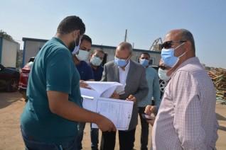 محافظ القليوبية يقوم بجولة لمتابعة المشروعات الجاري تنفيذها بشرق وغرب شبرا الخيمة