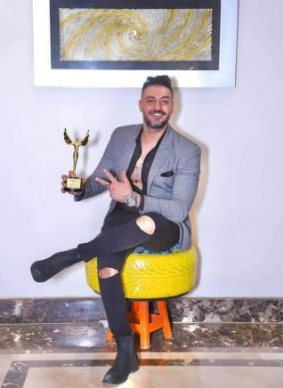 إياد جمال يحصد على لقب أفضل الشخصيات ٢٠٢١ لإيجي فاشون