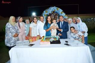 إيمان رجائى : تحتفل بعيد ميلاد  نجلها وسط الأصدقاء والأقارب