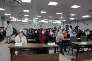 كلية الطب البيطرى فى جامعة بدر تنظم لقاءً تعريفياً للعام الدراسى الجديد