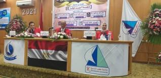 """منح الباحثة فاطمة هيكل درجة الماجستير عن رسالتها """" دور الجدارات الإدارية في تعزيز الجامعات الحكومية المصرية """""""