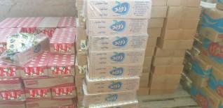 ضبط كيمة من الجبنة الفاسدة خلال حملة تموينية بمنطقة أبيس شرق الإسكندرية