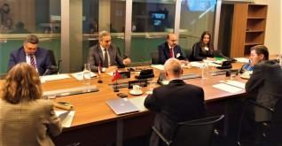 ابراهيم السجيني: نسعى للتوصل الى اتفاق يعزز من صادرات مصر الزراعية المصنعة لدول الآفتا