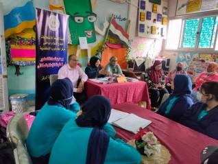 """ندوة بمركز إعلام غرب الإسكندرية حول """" التغذية الصحية للمراهقين """""""