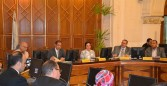 جامعة الإسكندرية تناقش عددًا من الخطط الخدمية والمجتمعية والمشروعات البيئية