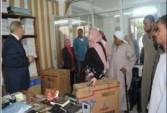 الوحدة المحلية لمركز و مدينة ديرمواس بالمنيا : تحرير 6 محاضر مخالفة بمخابز ديرمواس
