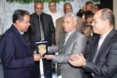 محافظ أسوان يشهد حفل تكريم مدير المديرية المالية