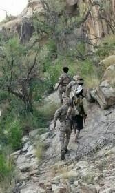 قوات اللواء الثالث حرس حدود بالجيش الوطني اليمني تصل مشارف مديرية باقم بمحافظة صعدة