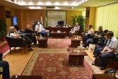 محافظ الفيوم يستقبل الوفد الأوروبي من منظمة ايكاردا سيزور