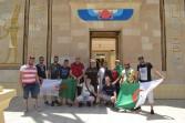 مشجعو منتخب الجزائر يشيدون بمعالم القرية الفرعونية