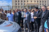 محافظ الإسكندرية ورئيس جهاز حماية المستهلك يتفقدان سيارات الضبطية القضائية للجهاز