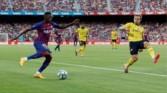 برشلونة يحرز كأس جوهان جامبر بثنائية على نظيره أرسنال