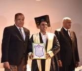 منح الدكتوراة المهنية للكابتن على محمد محسن من الجامعة الأمريكية