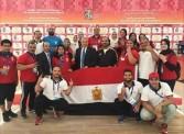 إنجاز رفع الأثقال ٥٦ ميدالية متنوعة بدورة الألعاب الافريقية بالمغرب