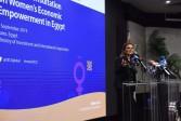 وزيرة الإستثمار تفتتح مؤتمر المناقشة الوطنية للتمكين الاقتصادى للمرأة