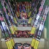ضبط تاجر بالقاهرة بحوزته مليون قطعة ألعاب نارية