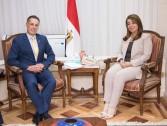 وزيرة التضامن تبحث تعزيز التعاون مع سفير سويسرا