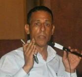 الفنان المسرحى محمد بكر يستعد للقيام بدور أنور السادات فى إحتفالات أكتوبر ٢٠١٩
