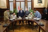 وزير الزراعة يشهد توقيع بروتوكول تعاون لانتاج تقاوي الخضر