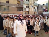 وكيل تعليم كفر الشيخ تتفقد المدارس وتطمئن على إجراءات الأمن والسلامة