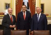 مدبولي يلتقي رئيس لجنة العلاقات الخارجية بمجلس الشيوخ الأمريكي