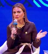 وزيرة الإستثمار تشارك فى إفتتاح منتدى طريق الحرير بجورجيا بحضور 38 دولة