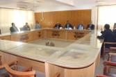 رئيس جامعة جنوب الوادي يتفقد كلية الحقوق ويلتقي أعضاء هيئة التدريس
