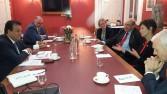 وزير التعليم العالي يعقد عدة اجتماعات مع كبار مسئولي عدد من الجامعات البريطانية