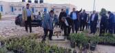 وزير الزراعة يتفقد مركز التنمية المستدامة لموارد مطروح