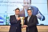 تكريم الإعلامي أيمن عدلي في مهرجان المنجزين العرب وحصوله على أوسكار الإبداع العربي