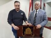 حزب مصر القومي يمنح الصحفي الفلسطيني عز أبو شنب سفير النوايا الحسنة