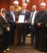 أمين عام حزب الحركة الوطنية المصرية يشارك قيادات الحزب بزيارة محافظ الأقصر