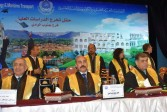 محافظ أسوان يشهد تخرج طلاب الدراسات العليا بالأكاديمية العربية للعلوم