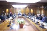 وزير التعليم العالي يرأس إجتماع لجنة قطاع الإعلام واللغات