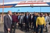 وزير الشباب والرياضة يتفقد أعمال التطوير بنادي الشمس