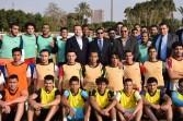 وزير الرياضة يشهد ختام اختبارات المشروع القومي لاكتشاف المواهب في كرة القدم