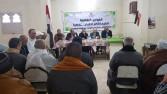 القافلة الثقافية الخامسة تواجه الإرهاب بقرية تاج العز بالدقهلية