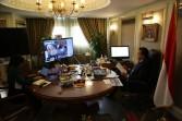وزير التعليم العالي يشارك في حوار افتراضي لبحث أزمة فيروس كورونا المستجد