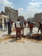 محافظ القاهرة : صرف تعويضات لاصحاب العقار المتضرر من كوبرى الحلمية