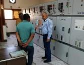 جولة تفقدية مفاجئة لرئيس شركة مصر العليا للكهرباء بقطاعات الشركة بأسوان